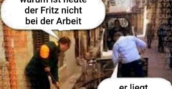 deutsche bei der arbeit