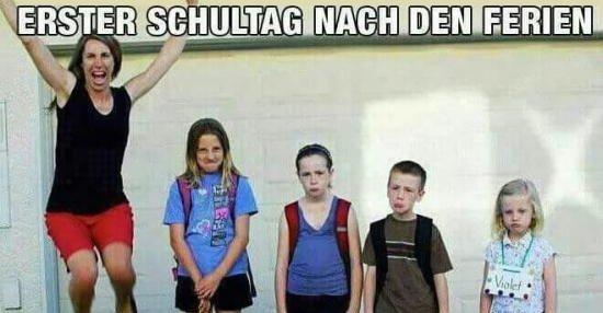 Erster Schultag Nach Den Ferien Lustige Bilder Spruche Witze