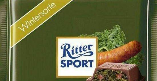 Ritter Sport Grnkohl Mit Pinkel Lustige Bilder