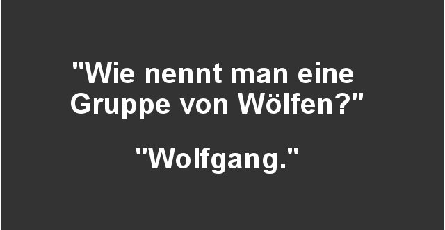 Wie Nennt Man Eine Gruppe Von Wölfen
