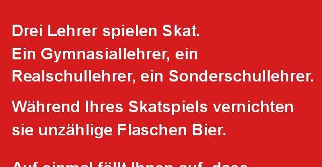 skat sprüche Drei Lehrer spielen Skat. | Lustige Bilder, Sprüche, Witze, echt  skat sprüche