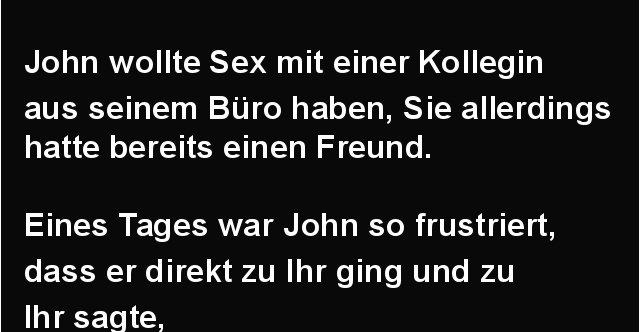 John Und Einer Kollegin Aus Seinem Buro Lustige Bilder Spruche