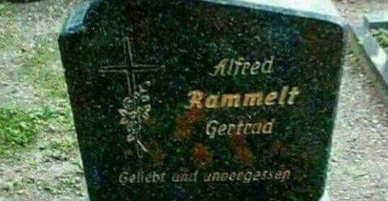 Wer auch immer diesen Grabstein angefertig hat.. | Lustige