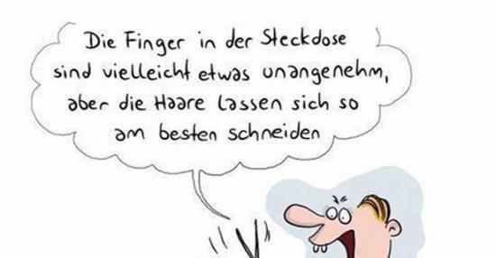 Finger In Steckdose