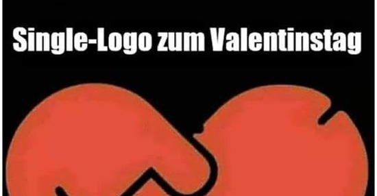 Single Logo Zum Valentinstag Lustige Bilder Spruche Witze