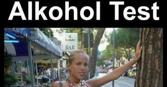 Alkohol Test.. | Lustige Bilder, Sprüche, Witze, echt lustig