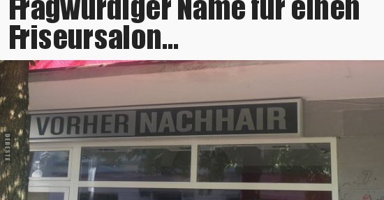 Name Friseursalon