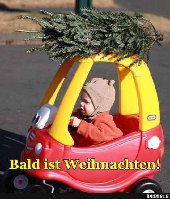 bald ist weihnachten  lustige bilder sprüche witze