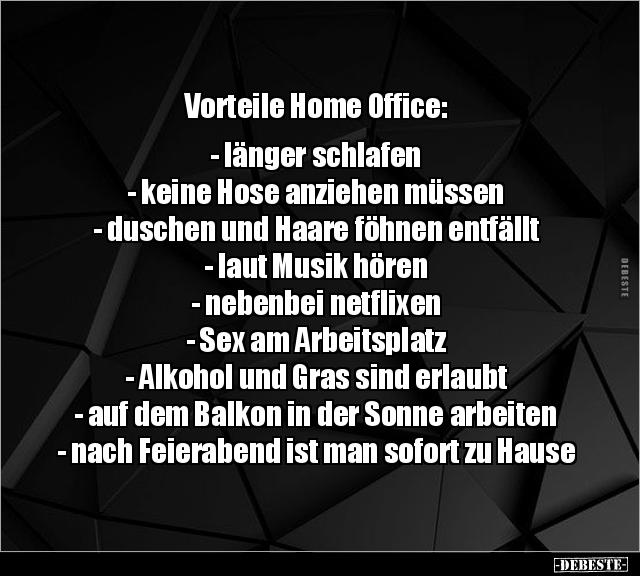 sprüche home office