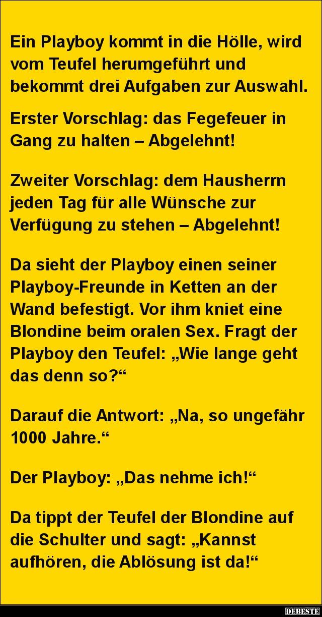Playboy Witze