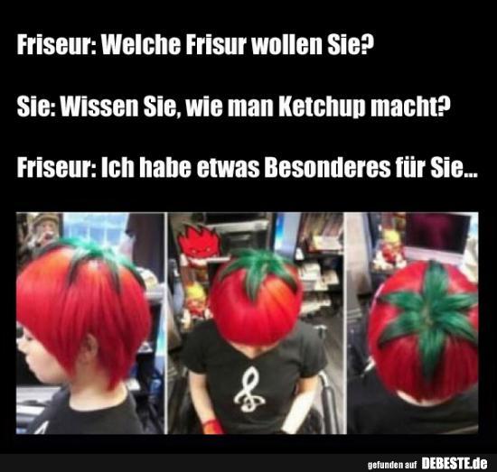 Friseur Welche Frisur Wollen Sie Lustige Bilder Spruche Witze