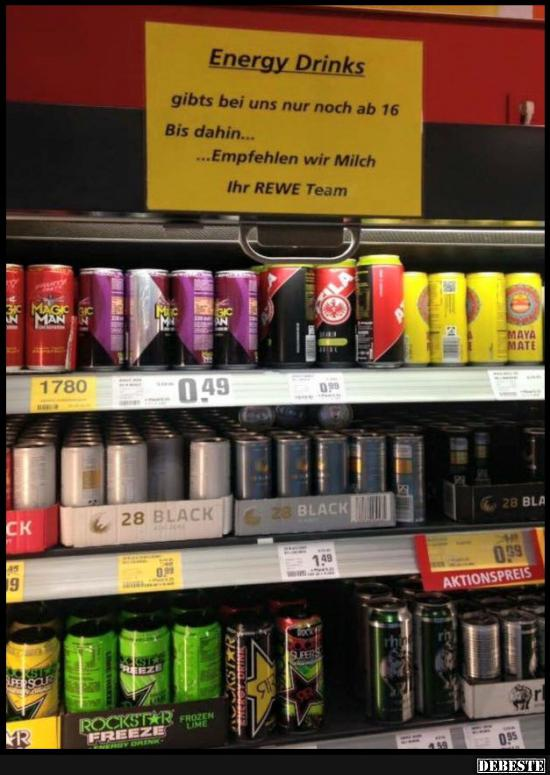Energy Drinks Lustige Bilder Sprüche Witze Echt Lustig
