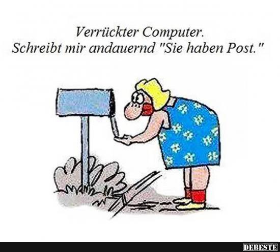 Verrückter Computer.. | Lustige Bilder, Sprüche, Witze, echt lustig