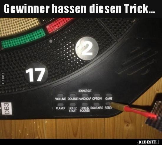 Hassen Diesen Trick