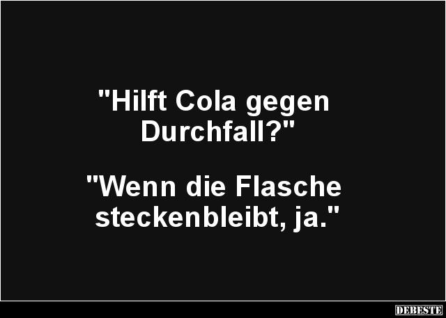 coca cola gegen durchfall