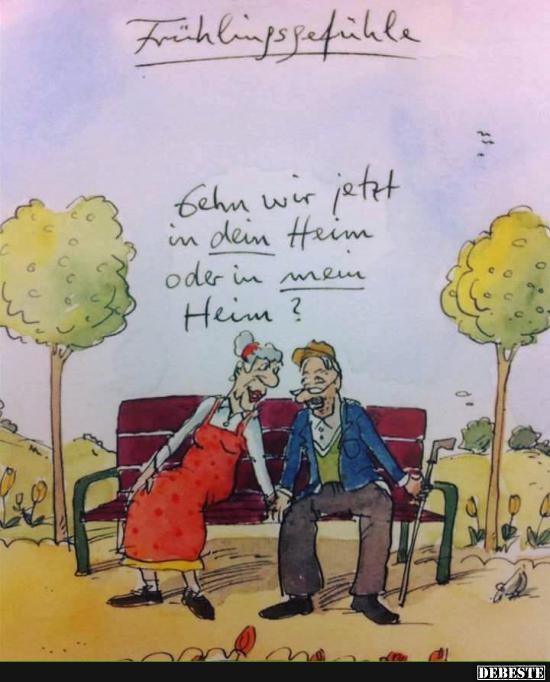 Liebe Kennt Eben Kein Alter Lustige Bilder Spruche Witze Echt