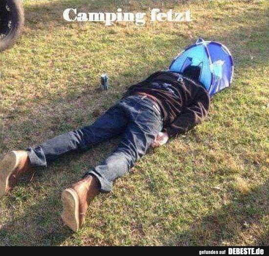 Camping Fetzt Lustige Bilder Spruche Witze Echt Lustig