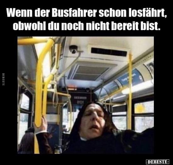 Busfahrer Sprüche