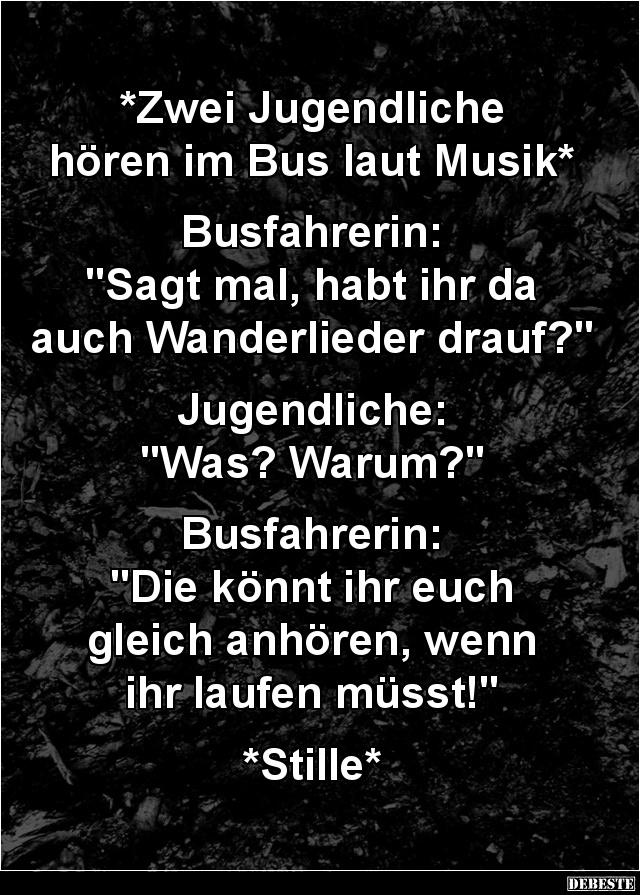 musik laut hören