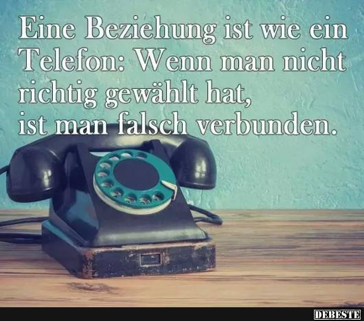 Eine Beziehung Ist Wie Ein Richtig Telefon Lustige Bilder
