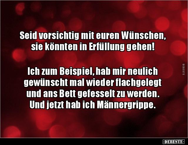 grippe Witze und Sprüche   DEBESTE.de