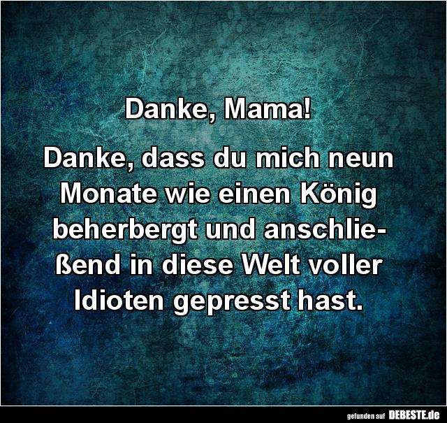 Danke Mama Lustige Bilder Spruche Witze Echt Lustig
