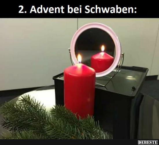 Lustige Bilder 2 Advent 2. Advent bei Schwaben.. | Lustige Bilder, Sprüche, Witze, echt lustig