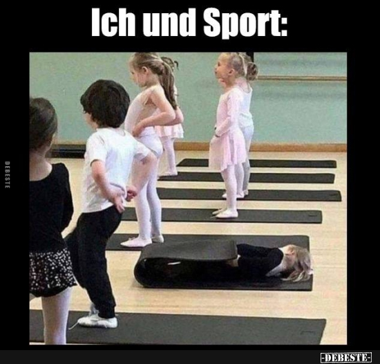 Ich Und Sport Lustige Bilder Spruche Witze Echt Lustig