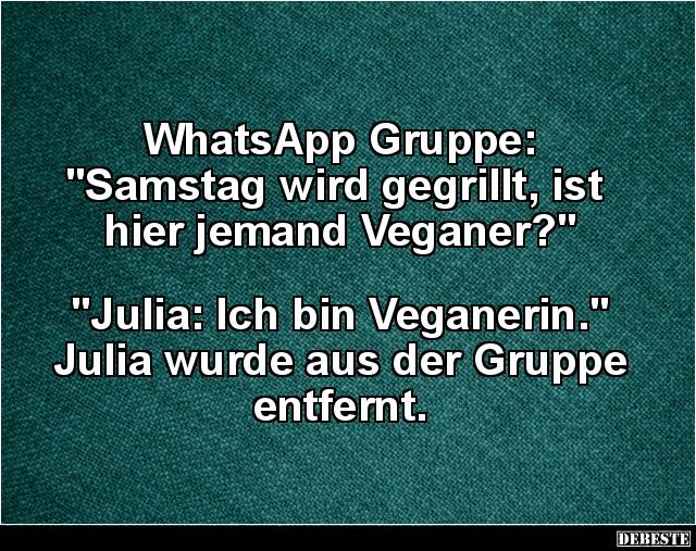 Whatsapp Gruppe Samstag Wird Gegrillt Lustige Bilder Spruche