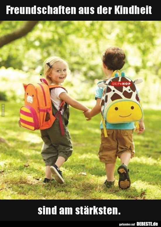 Freundschaften aus der Kindheit sind am stärksten | Lustige