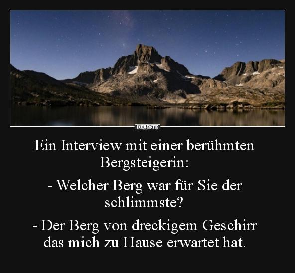 Bergsteiger Witze Und Sprüche Debestede