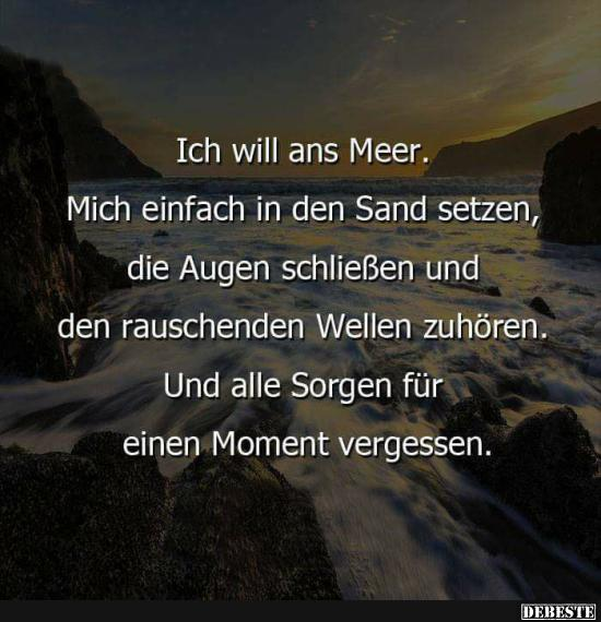 Ich Will Ans Meer.