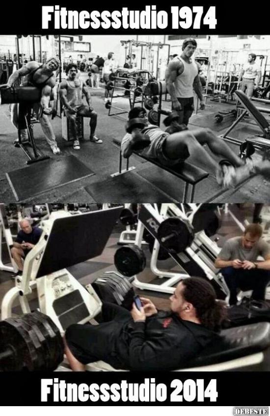 Lustige bilder fitnessstudio