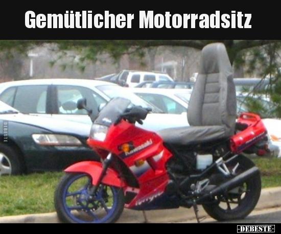 Lustig frau motorrad Meine Oma