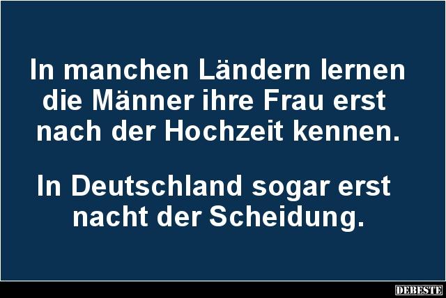 hochzeiten und scheidungen in deutschland