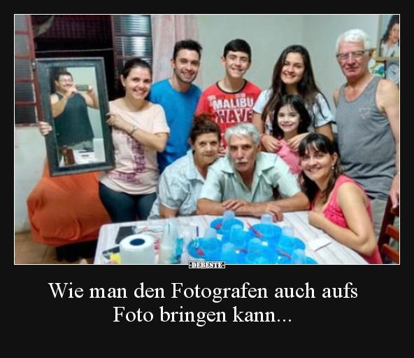 Wie Man Den Fotografen Auch Aufs Foto Bringen Kann