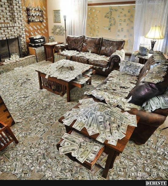 Vielleicht sollte ich doch mal mein Zimmer aufräumen ...