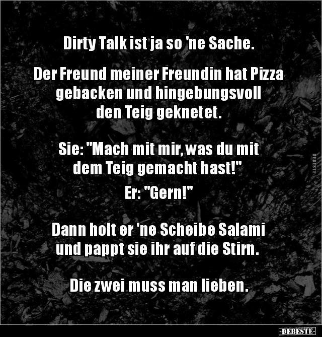 Dirty Talk Sprüche