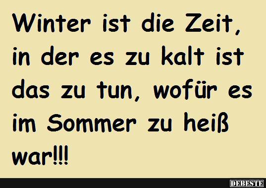 lustige sprüche winter Winterzeit | Lustige Bilder, Sprüche, Witze, echt lustig lustige sprüche winter