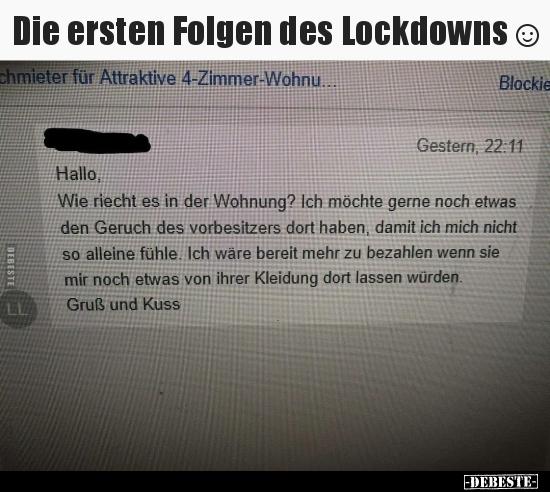 lustige Bilder von Lockdown in 2020 | Lustig