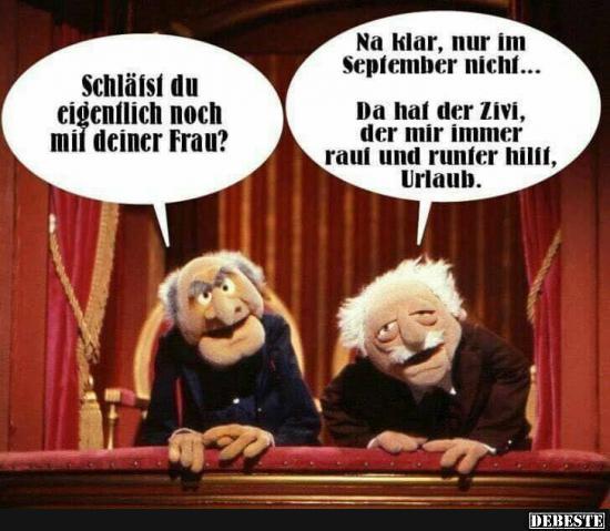 50 Best Statler And Waldorf Images On Pinterest: Schläfst Du Eigentlich Noch Mit Deiner Frau?