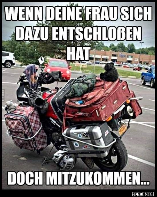 Lustig frau motorrad Top 9