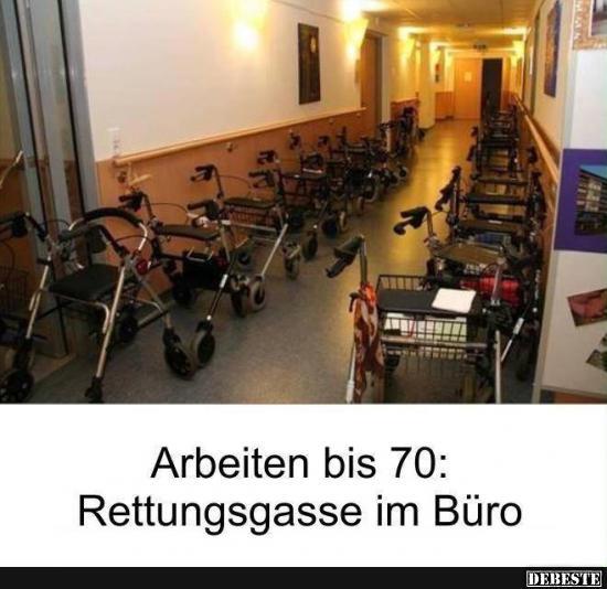 Rettungsgasse Im Buro Lustige Bilder Spruche Witze Echt Lustig