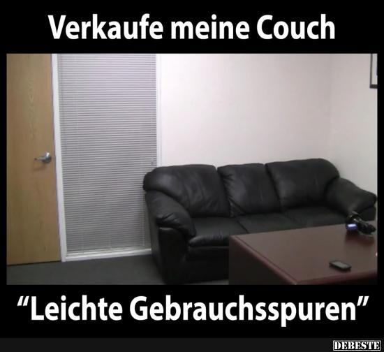verkaufe meine couch lustige bilder spr che witze echt lustig. Black Bedroom Furniture Sets. Home Design Ideas
