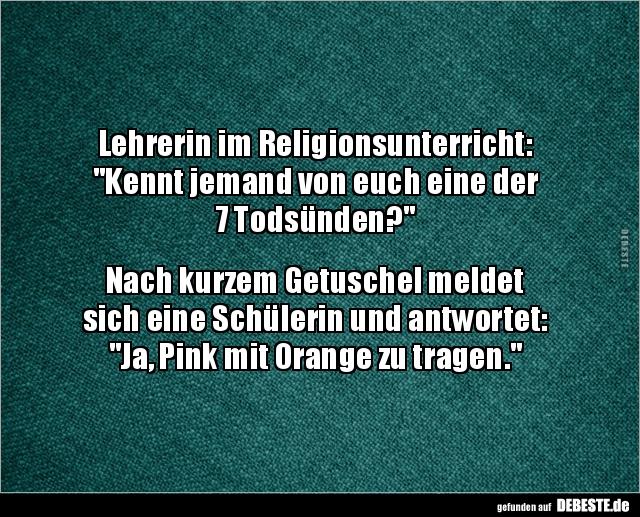 Lehrerin im Religionsunterricht: