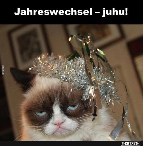 Jahreswechsel — juhu!   Lustige Bilder, Sprüche, Witze, echt lustig