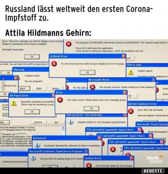 Russland Lasst Weltweit Den Ersten Corona Impfstoff Zu Lustige Bilder Spruche Witze Echt Lustig