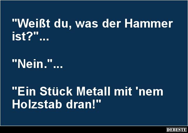 hammer status sprüche