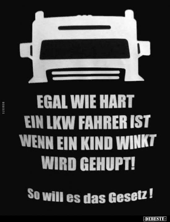Lkw Fahrer Witze Und Sprüche Debestede