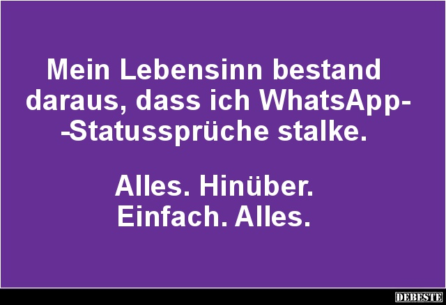 Lustige Whatsapp Status Sprüche Whatsapp Status Sprüche